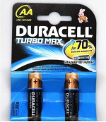 Duracell батарейки пальчиковые АА + индикатор заряда 2шт (69183)