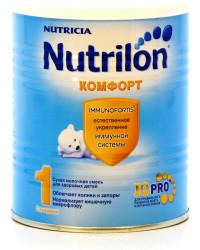 Nutrilon Комфорт молочная смесь, #1, с 0-6 месяцев, 400гр (00946)