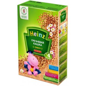 Heinz каша гречневая, с омега 3, с 4 месяцев, 200гр (02326)