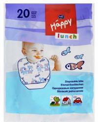 Happy одноразовые нагрудники 20шт (51046)