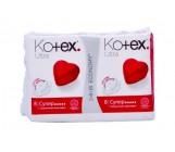 Kotex Ultra супер ультратонкие гигиенические прокладки сеточка, 5 капель, 8+8шт (42652)