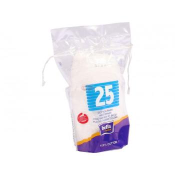 Bella ватные подушечки (спонжик) 25шт (01450)