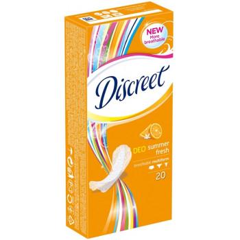 Discreet deo ежедневки Summer Fresh, 1 капля, 20шт (41505)