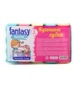 Fantasy home  кухонные губки 5шт (52225)