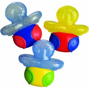 Nuby игрушка-прорезыватель с термогелем, пустышка, 4+ месяцев, 1шт (id467) (04676)