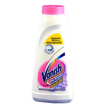 Vanish пятновыводитель +отбеливатель для белья, 450мл (27433)