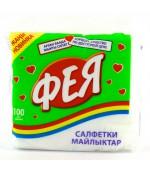 Фея сухие кухонные салфетки 100 шт (12598)