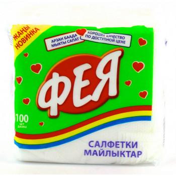 Фея сухие кухонные салфетки 100шт (12598)