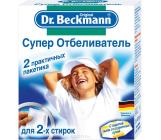 Dr. Beckmann супер отбеливатель пакетики для стирки, 2 x 40гр, 80гр (71719)