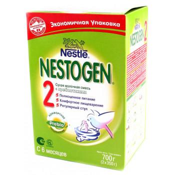 Nestogen сухая молочная смесь с пребиотиками, #2, 6-12 месяцев, 700гр (71283)