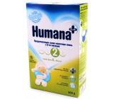 Humana сухая молочная смесь, #2, с 6-12 месяцев, 300г (82175)