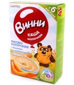 Винни каша молочная (рисово-кукурузная с бананом) с пребиотиками, 6 месяцев 220 гр (04695)