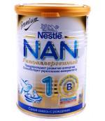 Nestle NAN сухая смесь гипоаллергенный, #1, с 0-6 месяцев, 400г  (51728)