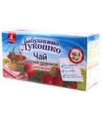 Бабушкино Лукошко детский травяной чай (шиповник) 4 месяца 20шт  (05460)