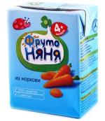 Фруто Няня сок (морковь) 4 месяцев 0.2 л (00275)