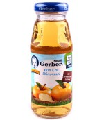 Gerber сок (яблоко) 3 месяцев 175мл (00205)