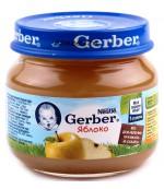 Gerber пюре (яблоко) 4 месяцев 80гр (78419)
