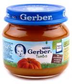 Gerber пюре (тыква) с 5 месяцев 80гр (78440)