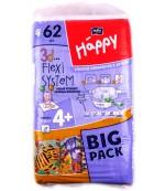 Happy maxi plus #4+ подгузники, 9-20 кг, 62шт (01140)