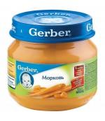Gerber пюре (морковь) с 4 месяцев 80 гр (78426)