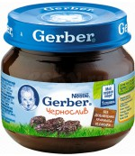 Gerber пюре (чернослив) 4 месяцев 80 гр (78013)