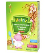 Heinz каша низкоаллергеная, гречневая, с 4 месяцев, 200гр  (01459)