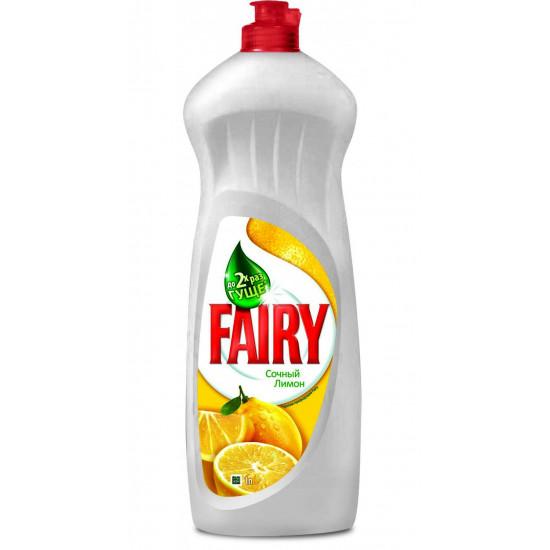 FAIRY для мытья посуды, лимон, 1л (37134)