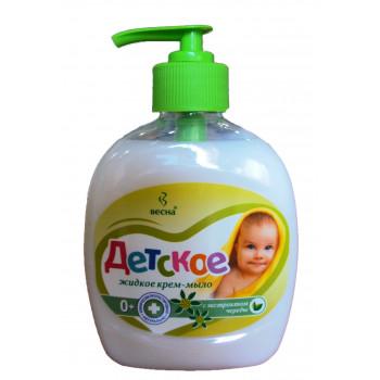 Весна Детское жидкое крем-мыло, с экстрактом Череды, 280гр (07302)