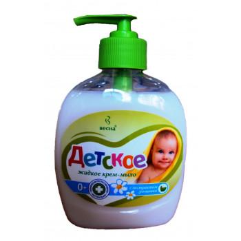 Весна детское жидкое крем-мыло, с экстрактом Ромашки, 280гр (07319)