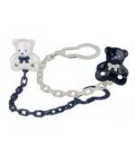 Baby Nova цепочка для пустышки (медвежата) (34144) 41449