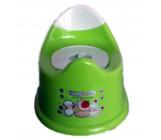 Детский горшок анатомический, зеленый, 1 шт (80302)