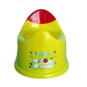 Детский горшок анатомический, желтый 1 шт (81638)