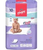 Happy одноразовые пеленки для детей, впитывающие, 90*60см, 10шт (00853)