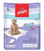 Happy одноразовые пеленки для детей, впитывающие, 90*60см, 1шт (00631)