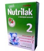 Nutrilak сухая молочная смесь, с Рисовой мукой, #2, с 6-12 месяцев, 350 гр (20229)
