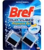 Bref duo-cubs чистящие средства для сливного бачка, 2шт (97341)