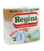 Regina кухонные полотенца 2 слоя 2 рулона (30401)