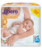 Libero new born #2 подгузники, 3-6 кг, 108шт (83943)