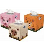 Zewa Kids 3D Зоопарк универсальные гигиенические платочки 60 шт (13977)