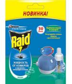 Raid электрофумигатор в комплекте + жидкость для электрофумигатора, 30 ночей (30919)