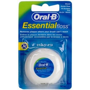 Oral-B Essential floss зубная нить 50м (80772)