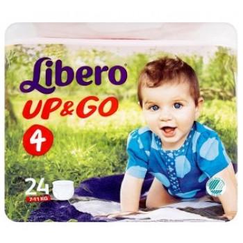 Libero Up&Go Трусики #4, 7-11кг, 24шт (59538)