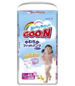 Goon #5 трусики для девочки, 12-20 кг, 38шт (51413)