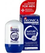 Deonica Men антиперспирант, nature protection, 45 мл (30086)