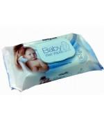 Compact салфетки влажные для детей, Baby wet wipes, 72 шт (31522)