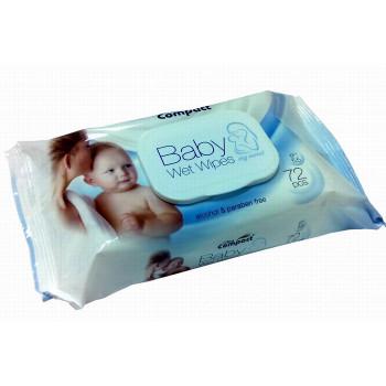 Compact салфетки влажные для детей 72шт (31522)