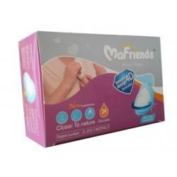 Mafriends одноразовые прокладки для грудей, 4D, 24 шт (99178)