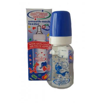 Camera пластиковая бутылочка для кормления, с круглой силиконовой соской, 1 капля, 0-24 месяцев, 150мл, 10035-A (00351)