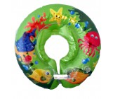 Круг надувной для купания младенцев, зеленый, 1 шт (81522)