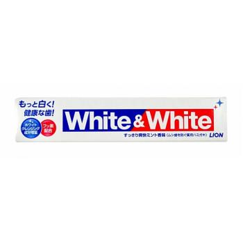 Lion White&White зубная паста отбеливающего действия туба 150гр (86403)